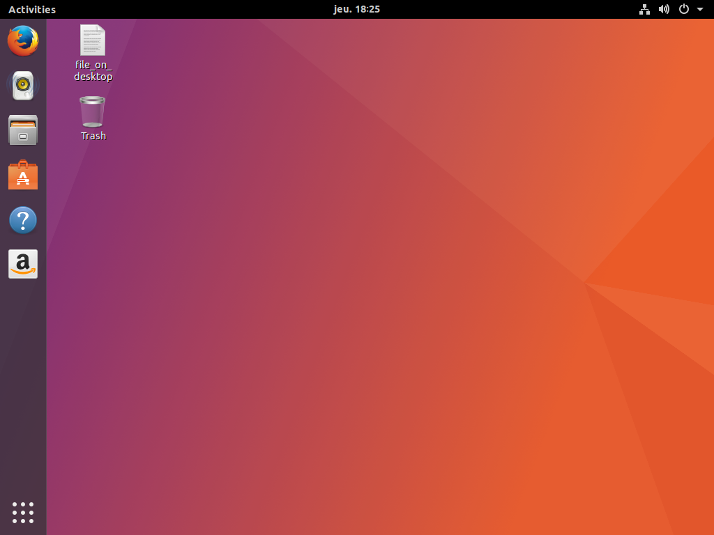 Current look of artful ubuntu session with Ubuntu Dock enabled by default