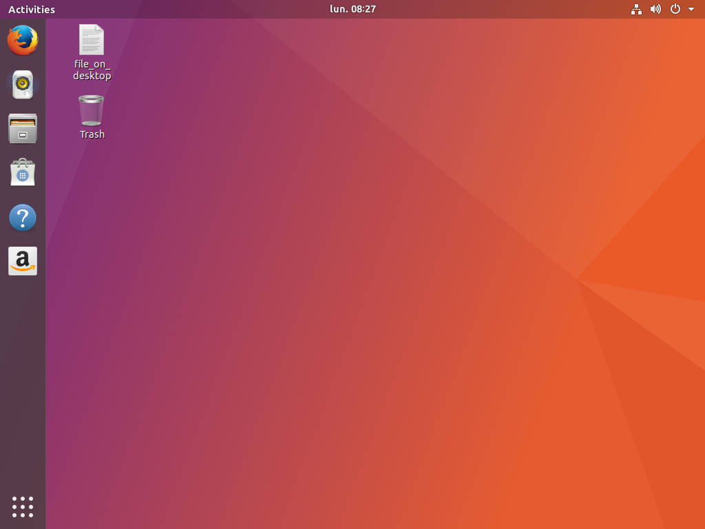 Previous default Ubuntu Dock transparency
