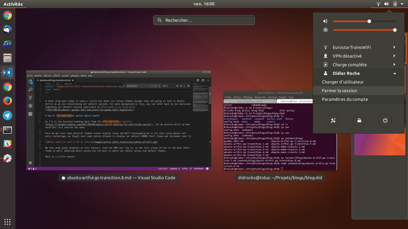 Maybe the artful ubuntu GNOME Shell theme?